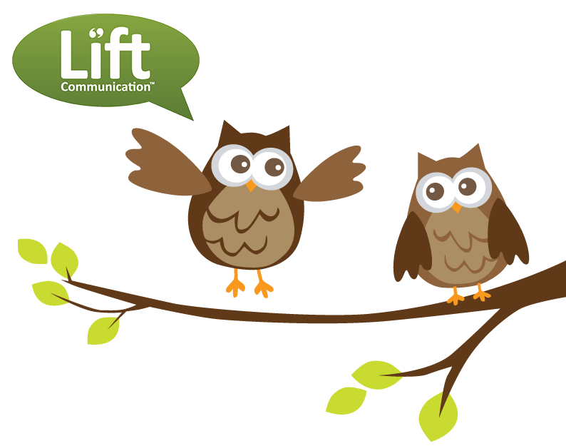 LiftComms active owls logo