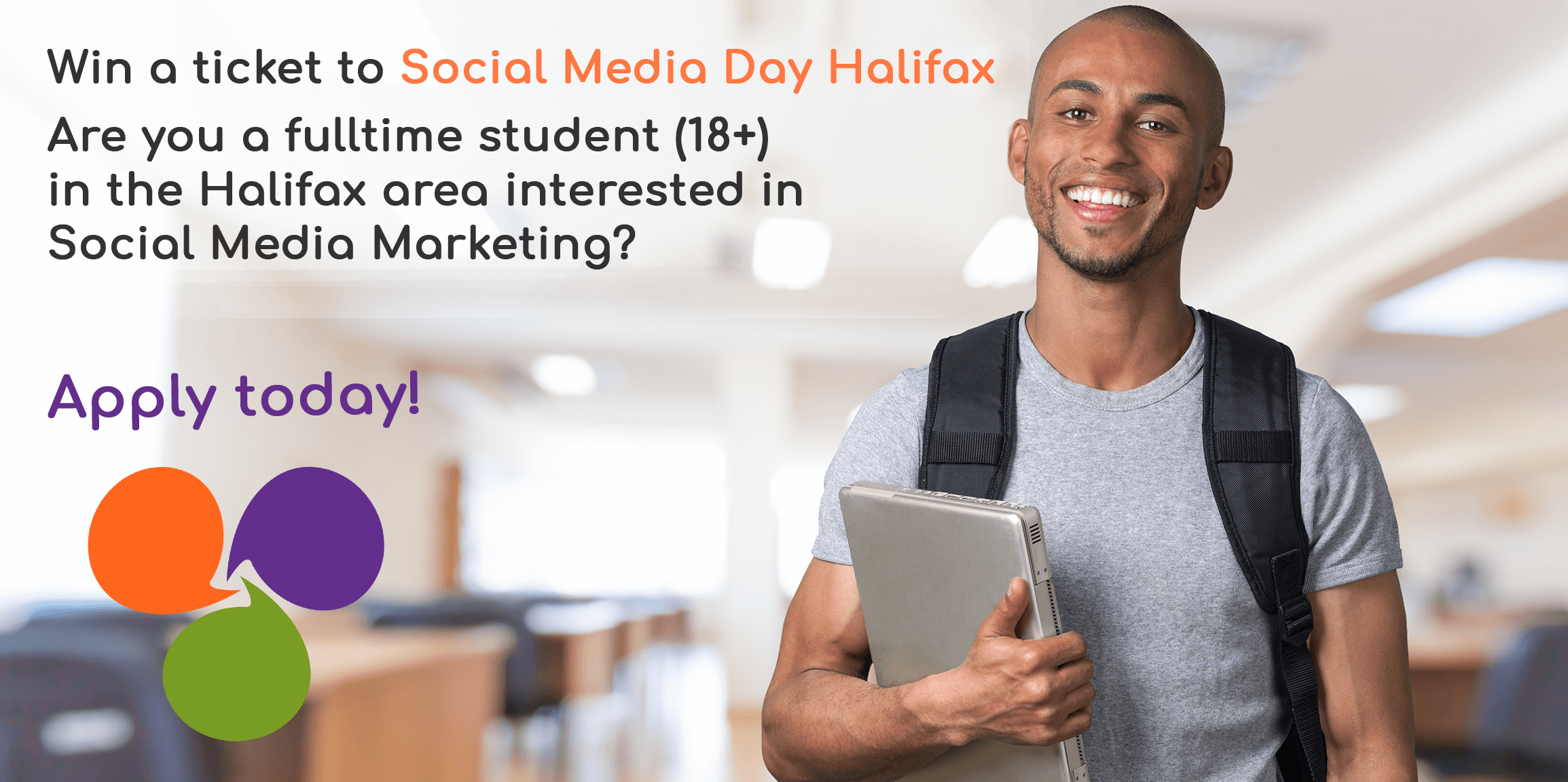 Social Media Day Halifax Send-a-Student Sponsorship