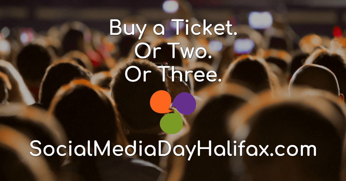 Buy a Ticket for Social Media Day Halifax 2018