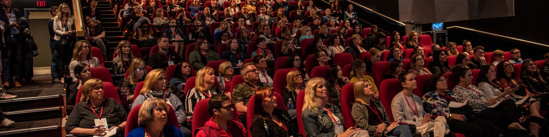 attendees in theatre